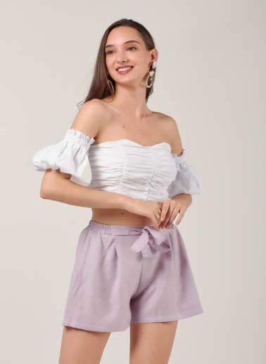 Coral Bluz Beyaz